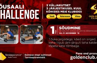 Jõusaali Challenge'i I etapp stardib 4. novembril