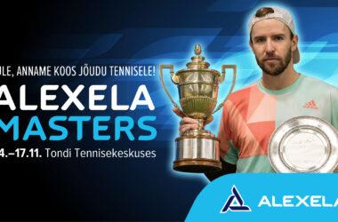 Neljapäeval algab Tondi Tennisekeskuses Alexela Masters