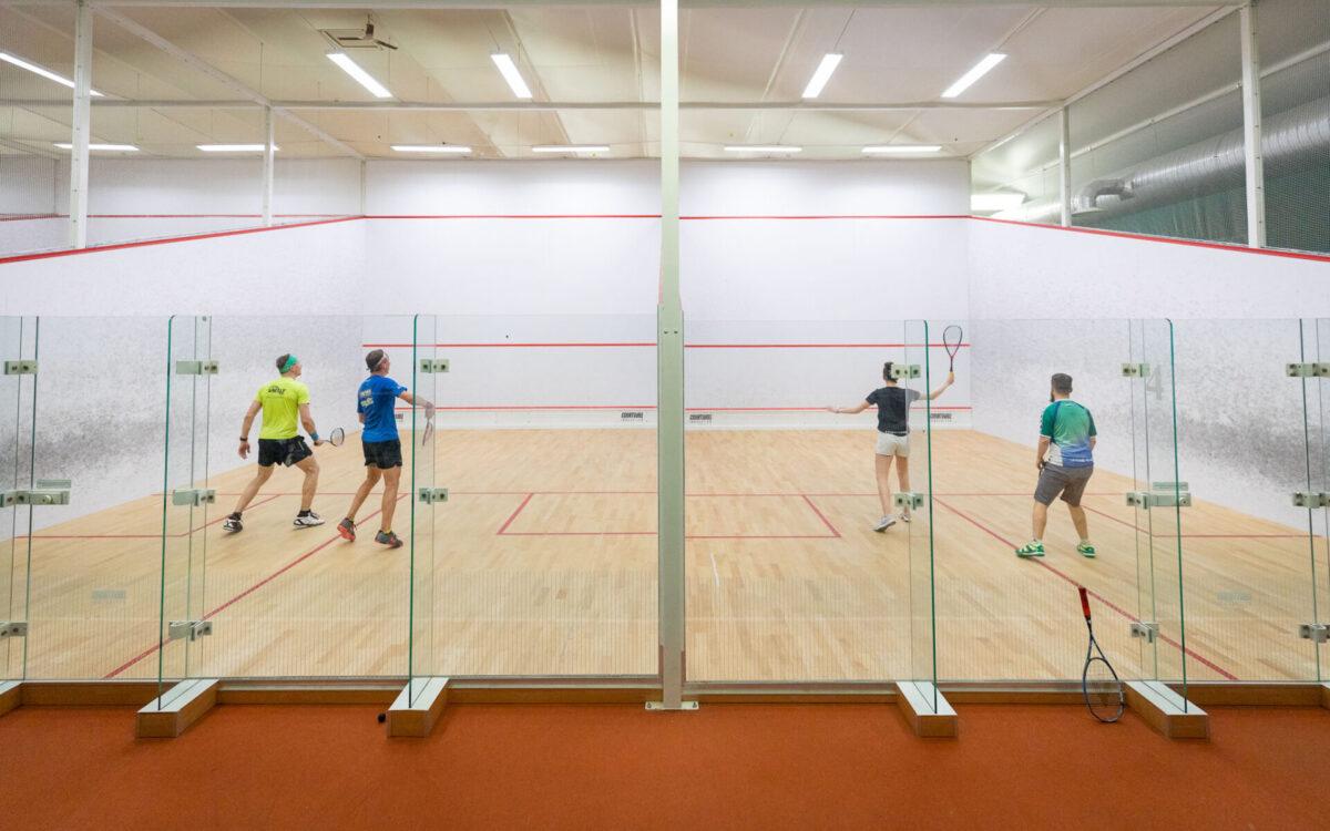 kvaliteetsed sertifitseeritud ja rahvusvahelistele standarditele vastavad squashiväljakud Tallinnas, FORUS Spordikeskus Tondil