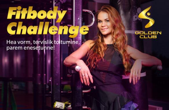 Liitu Egle Eller-Nabi FitBody Challenge'iga