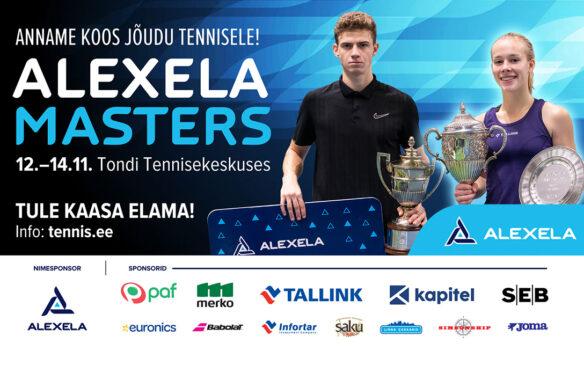 Alexela Masters Tondi Tennisekeskuses