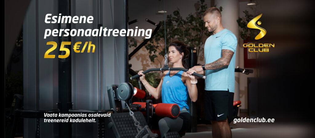 treeningutega alustamine, personaaltreening soodushinnaga